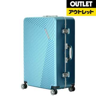 【アウトレット品】 スーツケース 90L PYRAMID(ピラミッド) ミントグリーン 5602-71-MGR [TSAロック搭載] 【数量限定品】