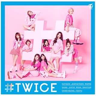 TWICE/#TWICE 通常盤 【CD】