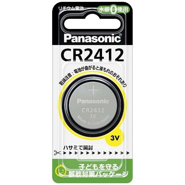 CR-2412P コイン型電池 [1本 /リチウム]