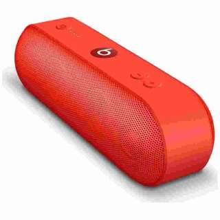 ML4Q2PA/A ブルートゥース スピーカー Pill+ シトラスレッド [Bluetooth対応]