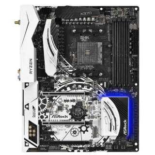 マザーボード(ATX)/Socket AM4/AMD X370/DDR4/PCI-Ex16/PCI-Ex1/SATA 6Gb/s/M.2/GbLAN/USB3.0