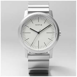 ウェアラブル端末 「wena wrist Three Hands White」 WN-WT01W