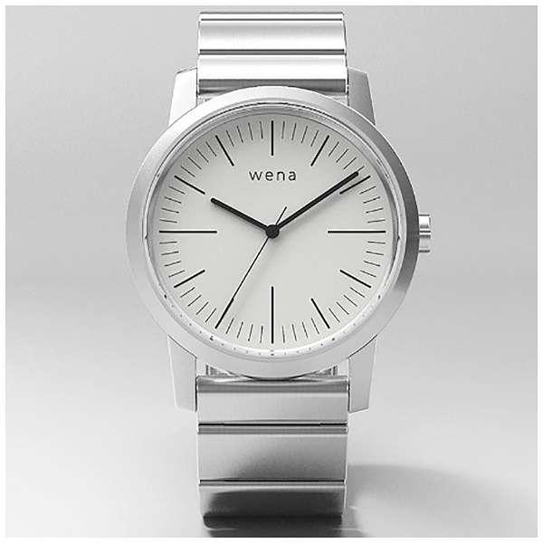 WN-WT01W ウェアラブル端末 wena wrist Three Hands ホワイト