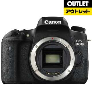 【アウトレット品】 EOS 8000D デジタル一眼レフカメラ [ボディ単体] 【展示品】