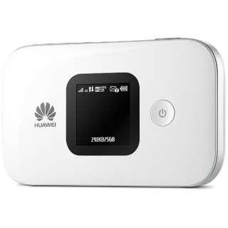 【SIMフリー】HUAWEI E5577 ホワイト [E5577S-324] LTE/Wi-Fi[無線a/b/g/n(2.4G/5GHz)]標準SIMx1 SIMフリーモバイルルーター
