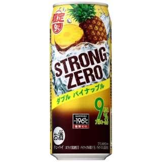 [数量限定] -196℃ ストロングゼロ ダブルパイナップル (500ml/24本)【缶チューハイ】