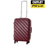 【アウトレット品】 スーツケース 38L ZEOLITE(ゼオライト)H038 ナパレッド I55-40001 [TSAロック搭載] 【外装不良品】
