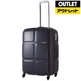 【アウトレット品】 スーツケース 74L CubePOP(キューブポップ)H074 アフターダーク S4661002 [TSAロック搭載] 【外装不良品】