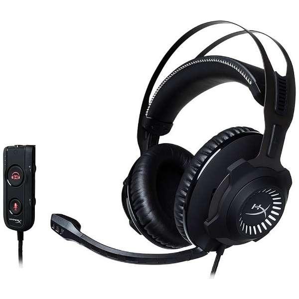HX-HSCRS-GM/AS ヘッドセット ガンメタル/ブラック [φ3.5mmミニプラグ+USB /両耳 /ヘッドバンドタイプ]