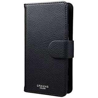 スマートフォン用[高さ 140mm] GRAMAS COLORS EveryCa Multi PU Leather Case Mサイズ ブラック CLC2216BK