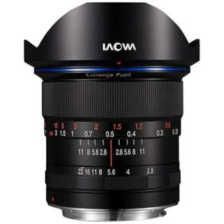 カメラレンズ 12mm F2.8 Zero-D ブラック [ペンタックスK /単焦点レンズ]