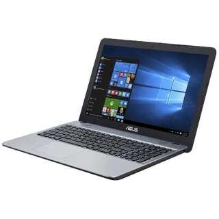 F541SA-XX244TS ノートパソコン VivoBook シルバーグラディエント [15.6型 /intel Celeron /HDD:500GB /メモリ:4GB /2017年3月モデル]