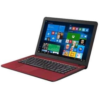 F541SA-XX246TS ノートパソコン VivoBook レッド [15.6型 /intel Celeron /HDD:500GB /メモリ:4GB /2017年3月モデル]