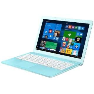 F541SA-XX247TS ノートパソコン VivoBook アクアブルー [15.6型 /intel Celeron /HDD:500GB /メモリ:4GB /2017年3月モデル]
