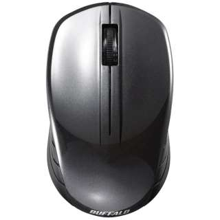 マウス ブラック BSMBW108BK [BlueLED /無線(ワイヤレス) /3ボタン /USB]