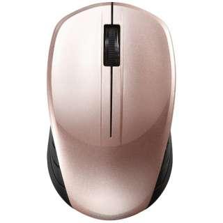 BSMBW108BP マウス BSMBW108シリーズ ベージュピンク [BlueLED /3ボタン /USB /無線(ワイヤレス)]