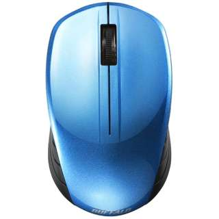 BSMBW108BL マウス BSMBW108シリーズ ブルー [BlueLED /3ボタン /USB /無線(ワイヤレス)]
