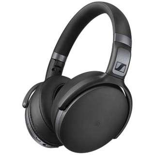 ブルートゥースヘッドホン ブラック HD 4.40BT [リモコン・マイク対応 /Bluetooth]
