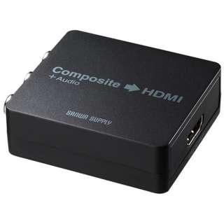 コンポジット信号HDMI変換コンバーター VGA-CVHD4