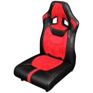 BC-LOC-01-RD ゲーミング座椅子 レッド