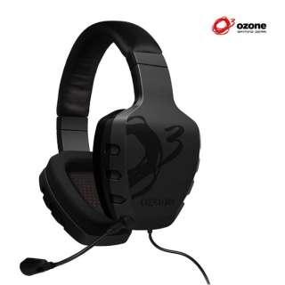 OZRAGESTK ゲーミングヘッドセット RAGE ST ブラック [φ3.5mmミニプラグ /両耳 /ヘッドバンドタイプ]