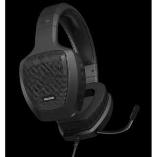 OZRAGEZ50K ゲーミングヘッドセット RAGE Z50 ブラック [φ3.5mmミニプラグ /両耳 /ヘッドバンドタイプ]