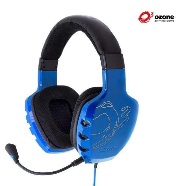 OZRAGESTB ゲーミングヘッドセット RAGE ST ブルー [φ3.5mmミニプラグ /両耳 /ヘッドバンドタイプ]