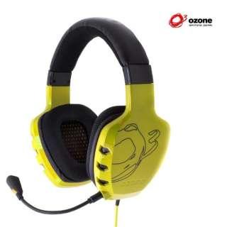 OZRAGESTY ゲーミングヘッドセット RAGE ST イエロー [φ3.5mmミニプラグ /両耳 /ヘッドバンドタイプ]