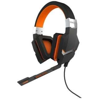 OZBLASTOCELOTE ゲーミングヘッドセット BLAST OCELOTE ブラック [USB /両耳 /ヘッドバンドタイプ]