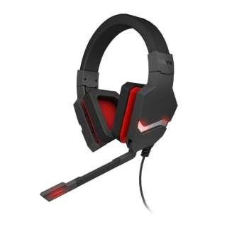 OZBLAST4HX ゲーミングヘッドセット BLAST 4HX ブラック [φ3.5mmミニプラグ+USB /両耳 /ヘッドバンドタイプ]