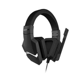 OZBLASTST ゲーミングヘッドセット BLAST ST ブラック [φ3.5mmミニプラグ+USB /両耳 /ヘッドバンドタイプ]
