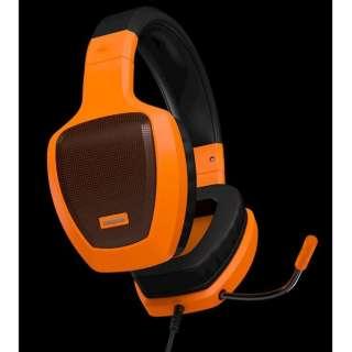 OZRAGEZ50GLO ゲーミングヘッドセット RAGE Z50 オレンジ [φ3.5mmミニプラグ /両耳 /ヘッドバンドタイプ]