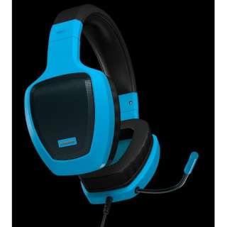 OZRAGEZ50GLB ゲーミングヘッドセット RAGE Z50 ブルー [φ3.5mmミニプラグ /両耳 /ヘッドバンドタイプ]