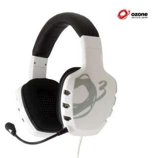 OZ RAGE ST W ゲーミングヘッドセット RAGE ST ホワイト [φ3.5mmミニプラグ /両耳 /ヘッドバンドタイプ]