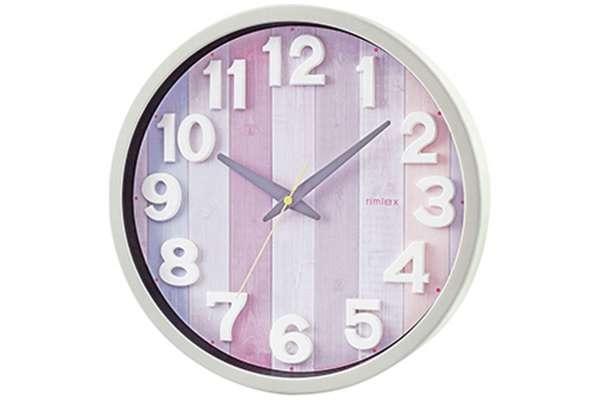 掛け時計のおすすめ21選 ノア精密「リムレックス(Rimlex) ナタリー」W-658-PK-Z