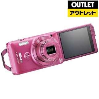 【アウトレット品】 S6900 コンパクトデジタルカメラ COOLPIX(クールピクス) グロッシーピンク 【生産完了品】