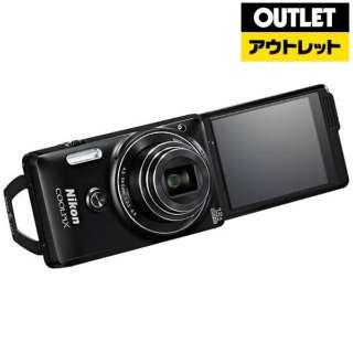 【アウトレット品】 S6900 コンパクトデジタルカメラ COOLPIX(クールピクス) リッチブラック 【生産完了品】