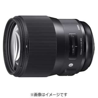 カメラレンズ 135mm F1.8 DG HSM Art ブラック [キヤノンEF /単焦点レンズ]