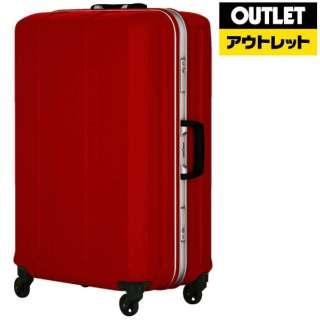 【アウトレット品】 フレームタイプスーツケース 91L D-light(ディライト) パールワイン 6022-69-PWR [TSAロック搭載] 【数量限定品】
