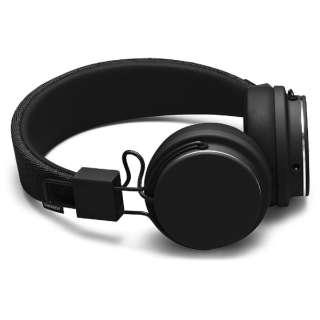 ヘッドホン PLATTAN2 BLACK PLATTAN2 [リモコン・マイク対応 /φ3.5mm ミニプラグ]