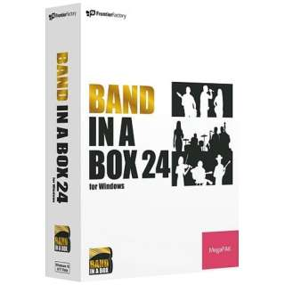 〔Win版〕Band-in-a-Box 24 for Windows MegaPAK