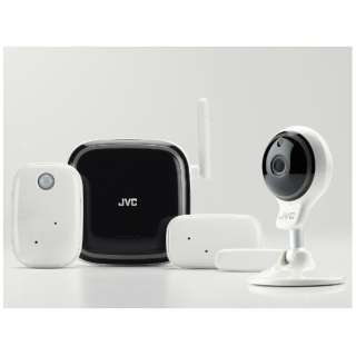 GV-F1KIT ネットワークカメラ ホワイト [暗視対応 /無線]