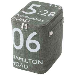 ストレージボックス(ハーフ) FKG-259GR(W18×D26×H23cm)