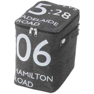 ストレージボックス(ハーフ) FKG-259BK(W18×D26×H23cm)