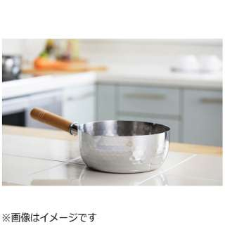 ≪IH対応≫ ステンレス雪平鍋 (22cm) YH6754