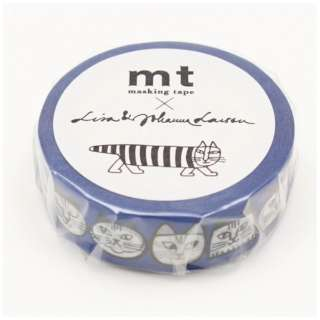 mt マスキングテープ mt×Lisa Larson リサラーソン ねこのかお MTLISA10