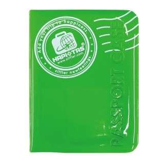 HAP7021 ライトグリーン パスポートケースS