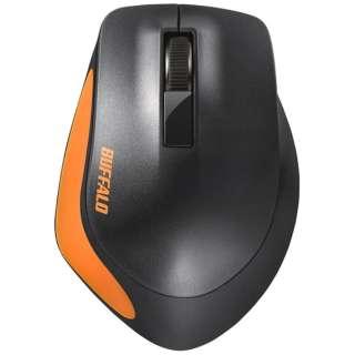 BSMBW300MOR マウス BSMBW300Mシリーズ オレンジ [BlueLED /3ボタン /USB /無線(ワイヤレス)]
