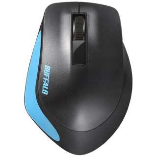 BSMBW300MBL マウス BSMBW300Mシリーズ ブルー [BlueLED /3ボタン /USB /無線(ワイヤレス)]