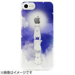 iPhone 7用 ソフトクリアケース ベイビーアニマル 3匹のこぐま Dparks DS9486i7